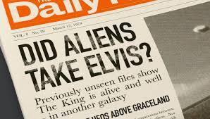 Aliens took Elvis