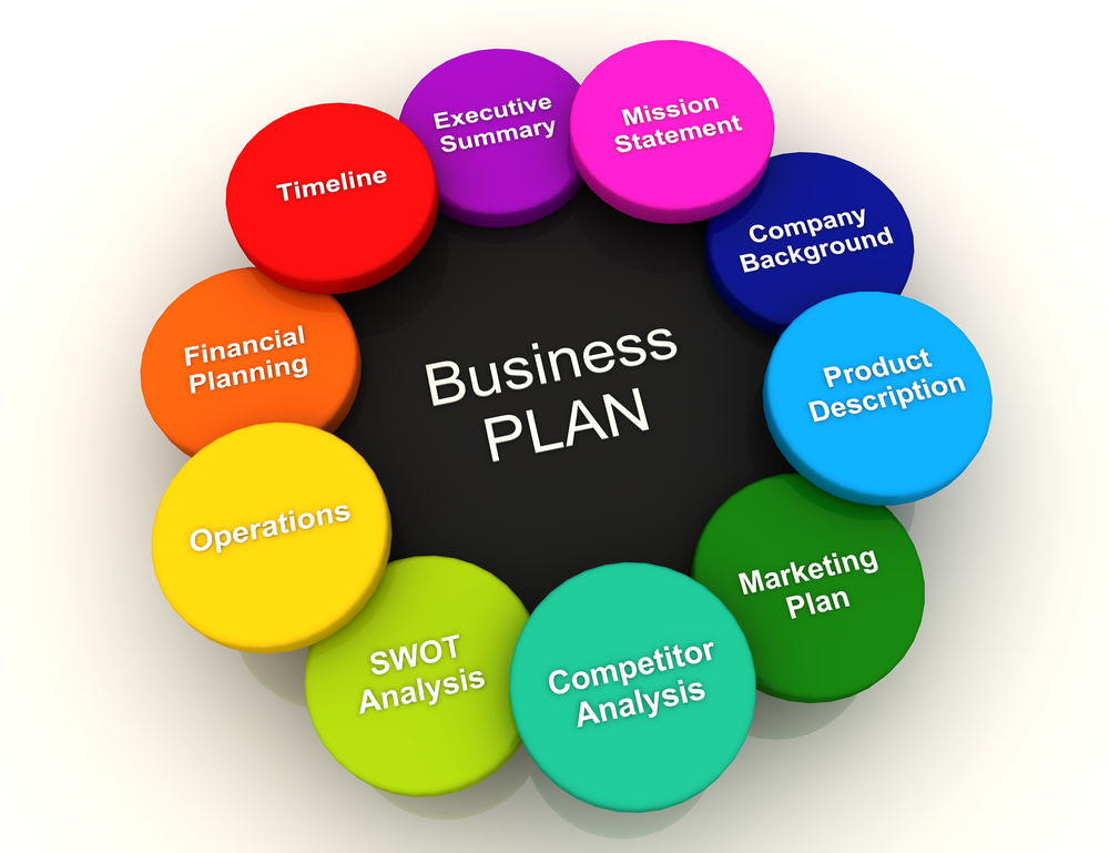 Business Plan Basics Illustration