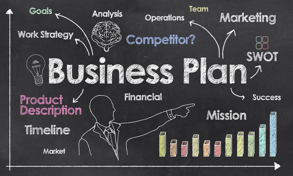 Business Plan Illustration