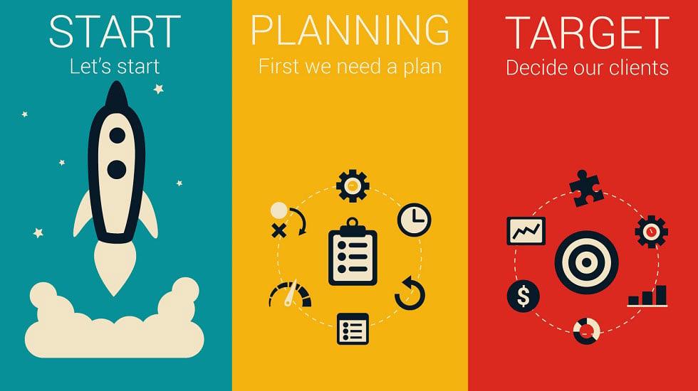 Start Planning Target Illustration